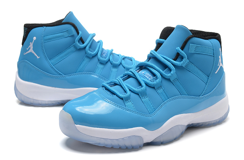 2014 Air Jordan 11 Retro Pantone University Blue White Black