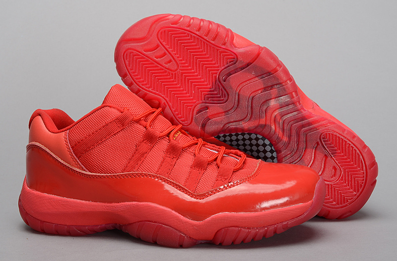 2015 Air Jordan 11 Low All Red PE