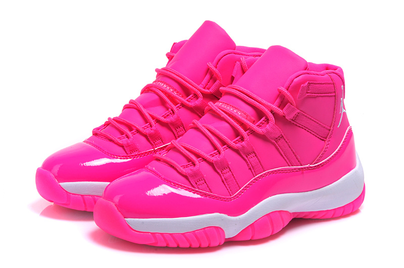 2015 Air Jordan 11 Pink Shoes For Women