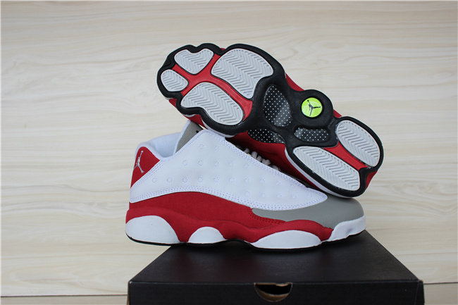 2015 Air Jordan 13 Low Grey Toe