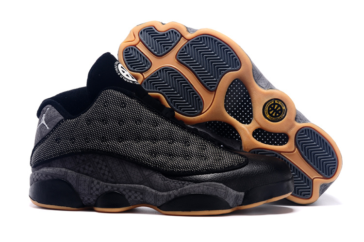 2015 Air Jordan 13 Low Quai 54 Black