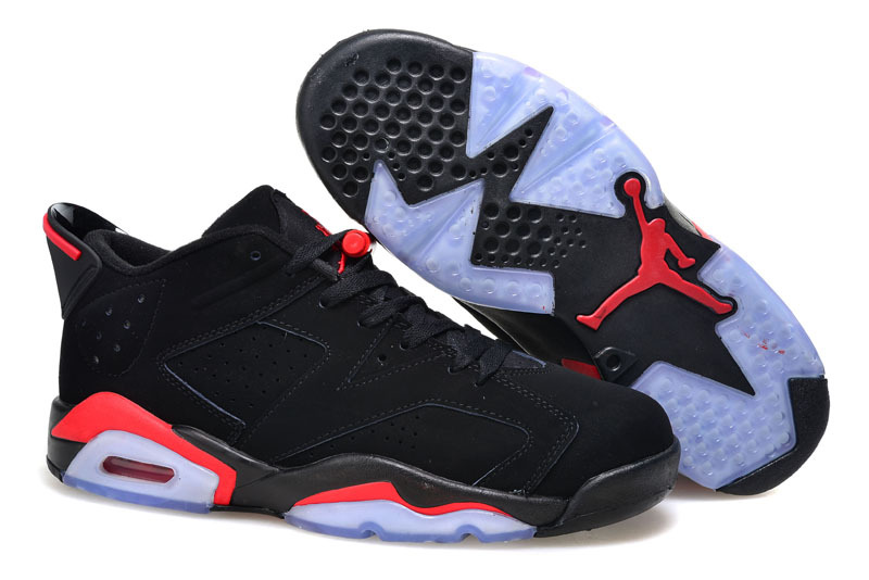 2015 Air Jordan 6 Low Black Infrared 23 Black