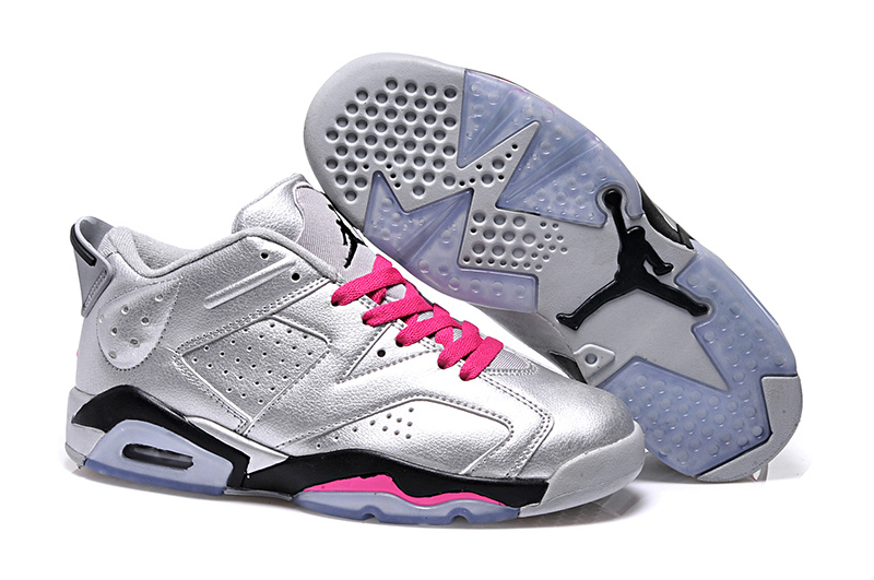 brand new be017 5f77a 2015 Air Jordan 6 Low GS Valentines Day