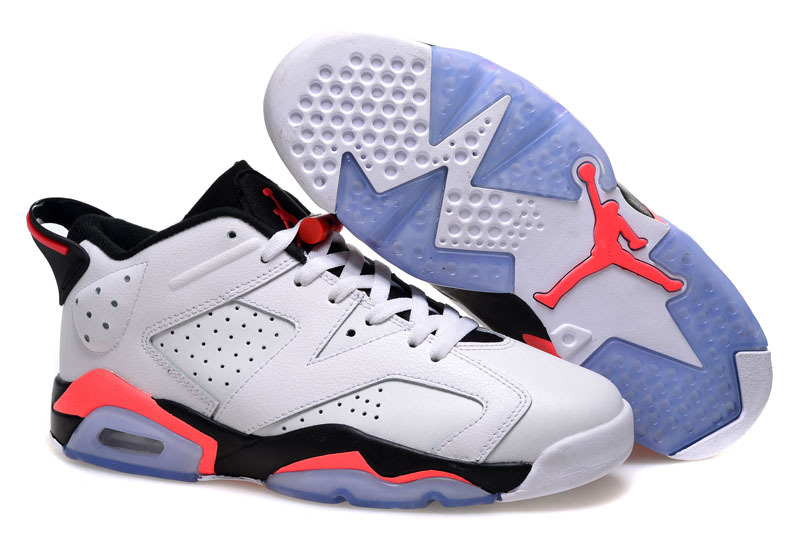 2015 Air Jordan 6 Low White Infrared 23