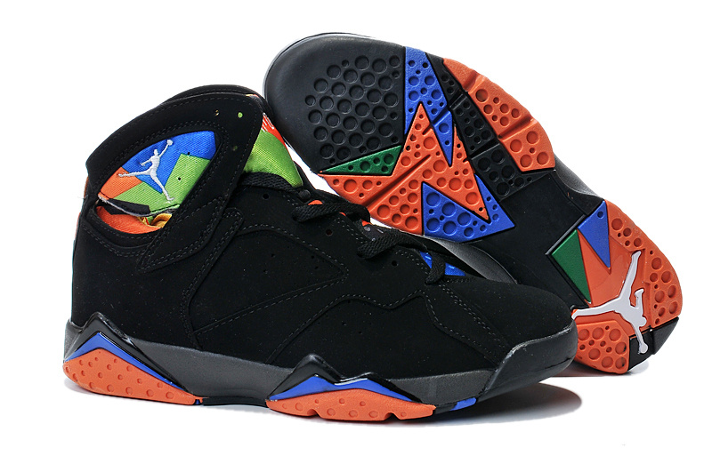 best website 275bb 66fee 2015 Air Jordan 7 Black Orange Shoes