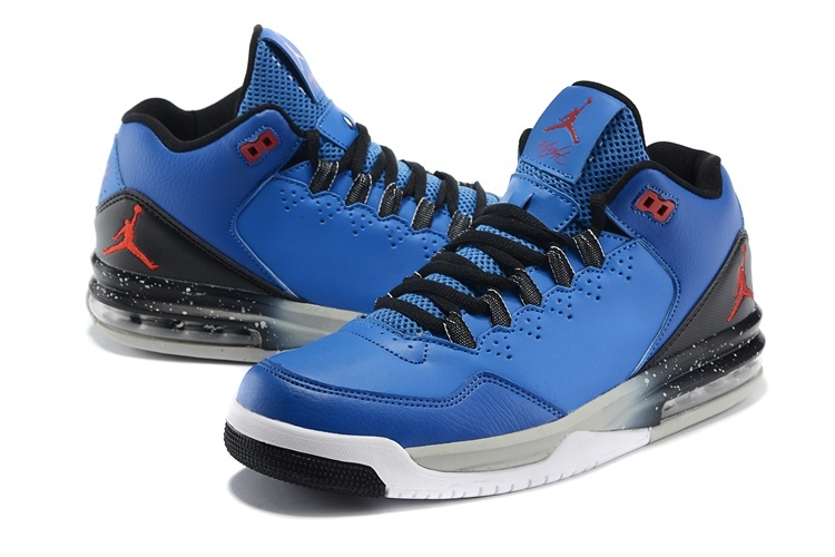 Cheap 2015 Real Jordan Flight Original Blue Black Red Jumpman