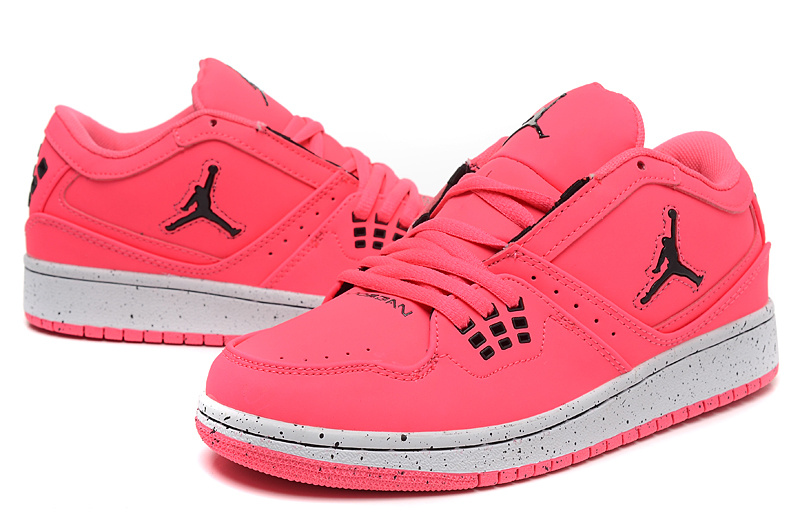 Real Air Jordan 1 Flight Low Pink Shoes