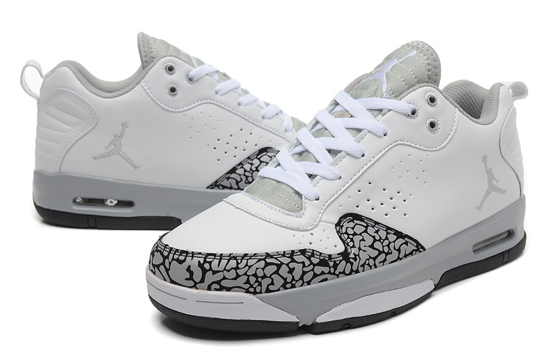 2015 Air Jordan Cement Grey White Grey Shoes