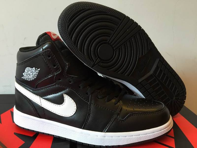 2016 Air Jordan 1 High Black White
