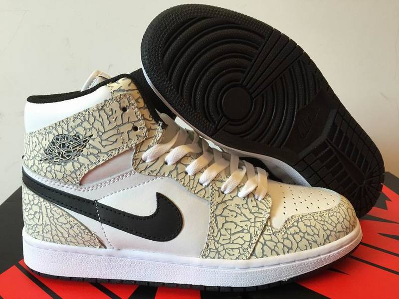 2016 Air Jordan 1 High White Elephant