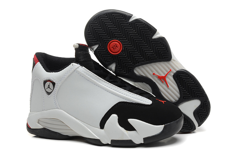 2153a69335f5 2016 Air Jordan 14 Black Toe White Black Varsity Red Metallic Silver