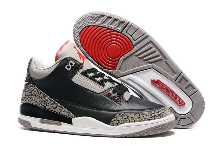 d3eb23e07121 2016 Air Jordan 3 Black Cement