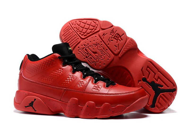 reputable site 41611 d6f9a 2016 Air Jordan 9 Retro Low Infrared Black Bright Red
