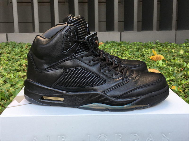 2017 Men Jordan 5 Premium Pinnacle Black