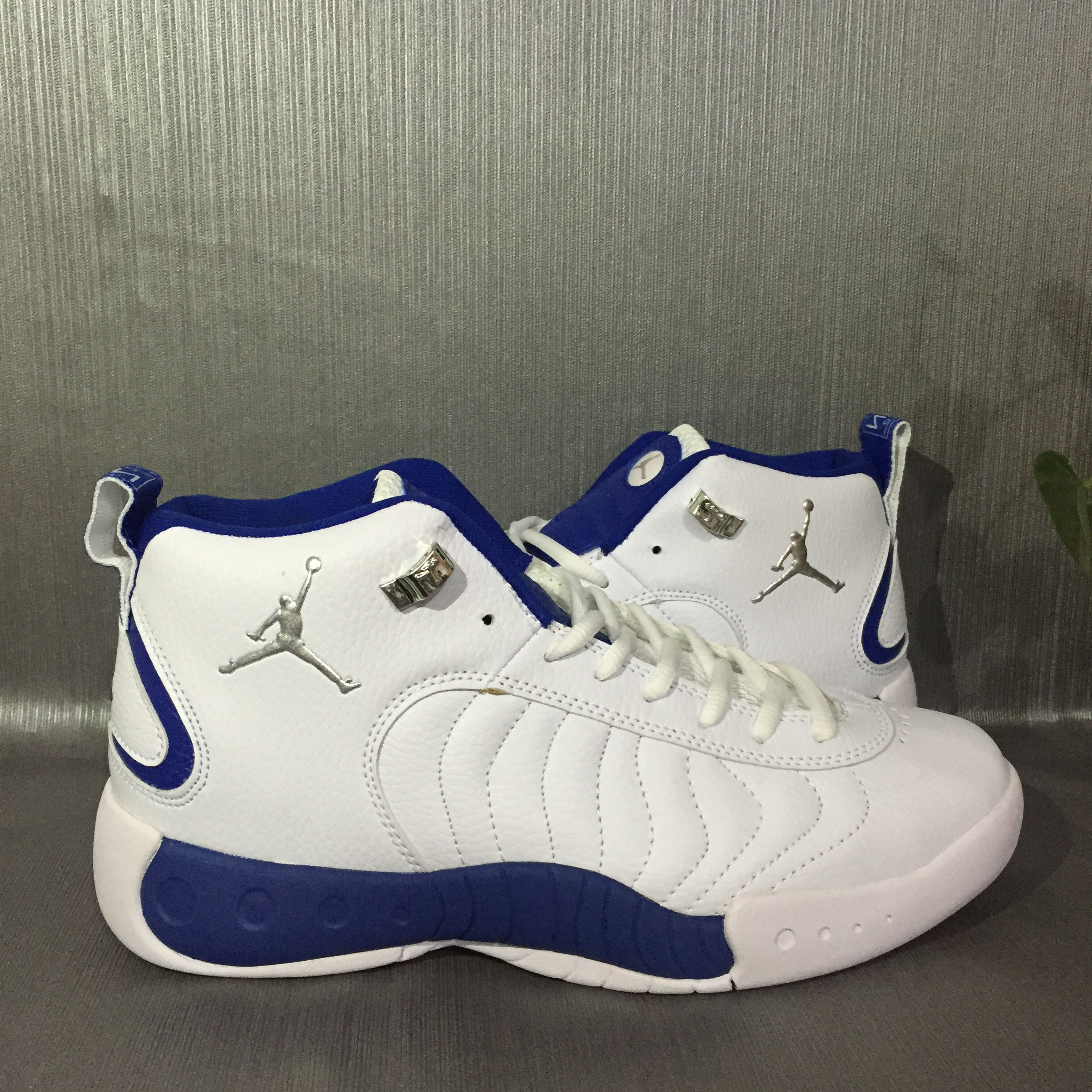 info for 91062 4bd78 2017 Jordan Jumpman Pro White Blue Shoes [REALAJS1231 ...