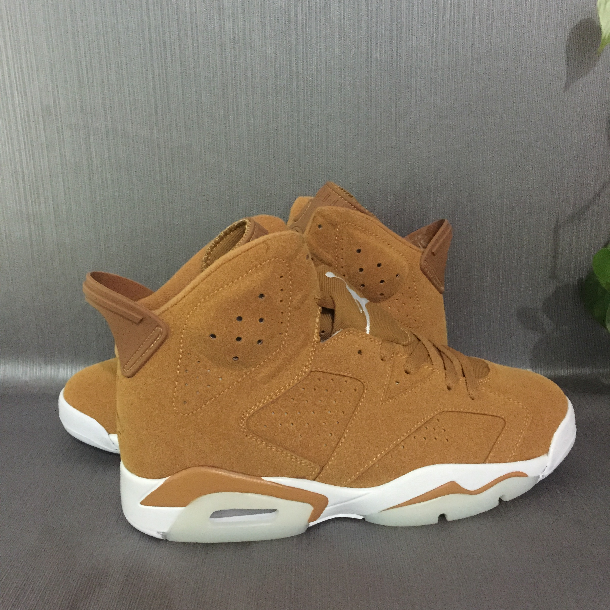 31d5fd7e8e3a31 2017 Men Air Jordan 6 Yellow White Shoes  REALAJS332  -  83.00 ...