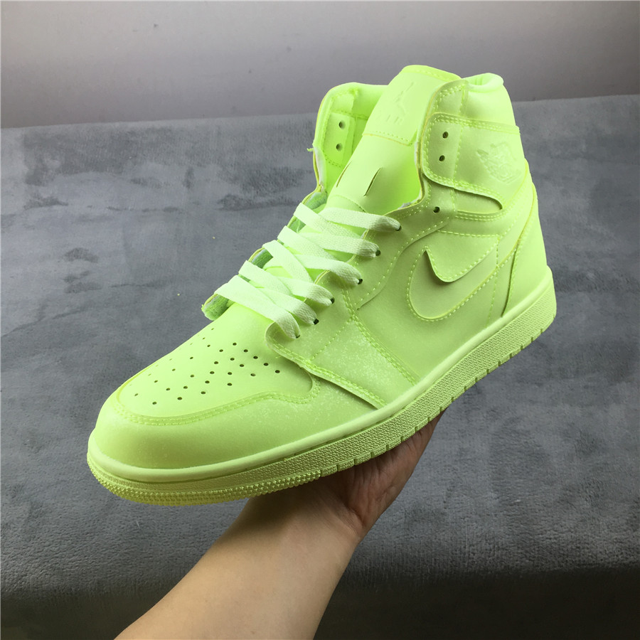 Real 2019 Air Jordan 1 Retro Premium Green