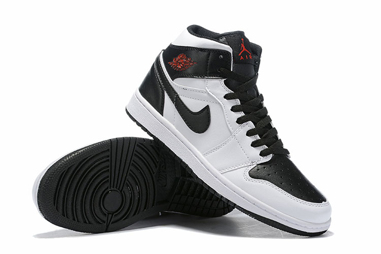 Women Air Jordan 1 Retro Black White