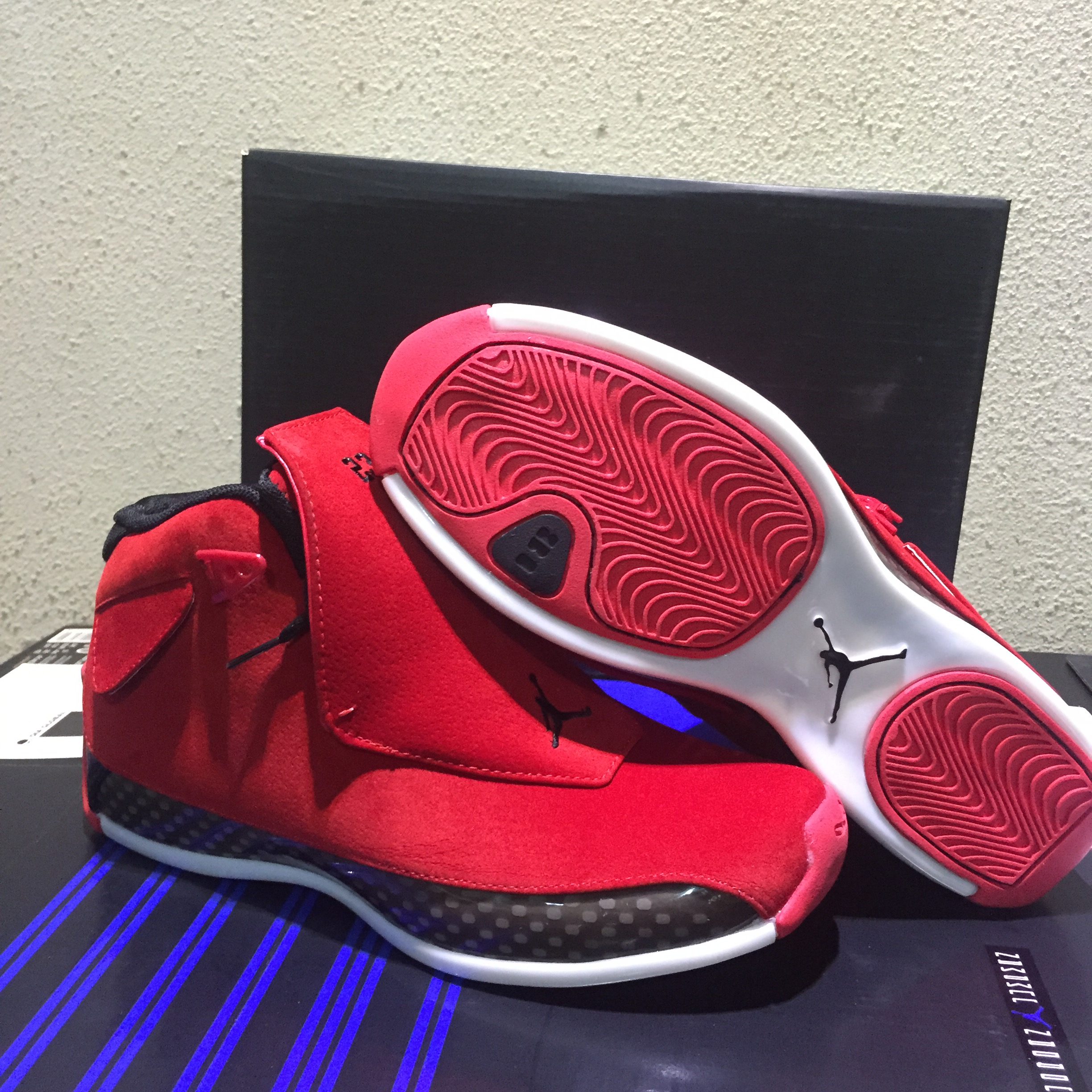 2019 Air Jordan 18 Chicago Red Shoes