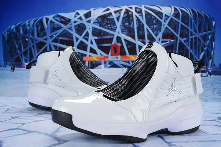 2019 Air Jordan 19 White Black Shoes