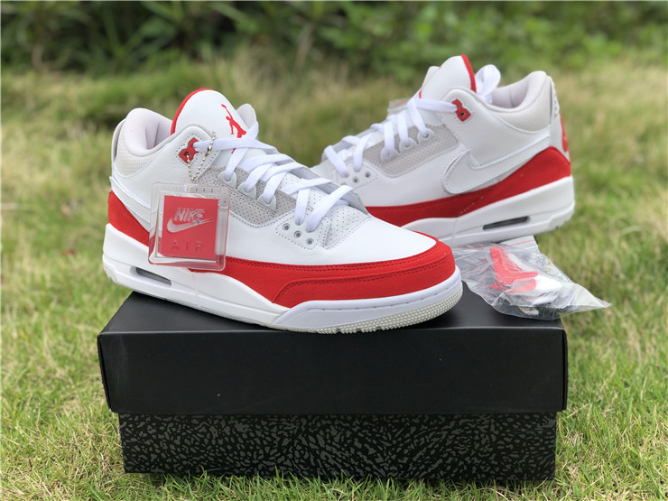 2019 Air Jordan 3 Tinker Air Max 1 White University Red