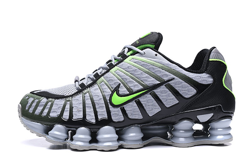 Nike Shox TL Grey Black Green
