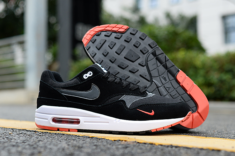 2019 Nike Air Max 90 Black White Red Shoes
