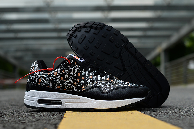 2019 Nike Air Max 90 Just Do It Black Colorful Shoes