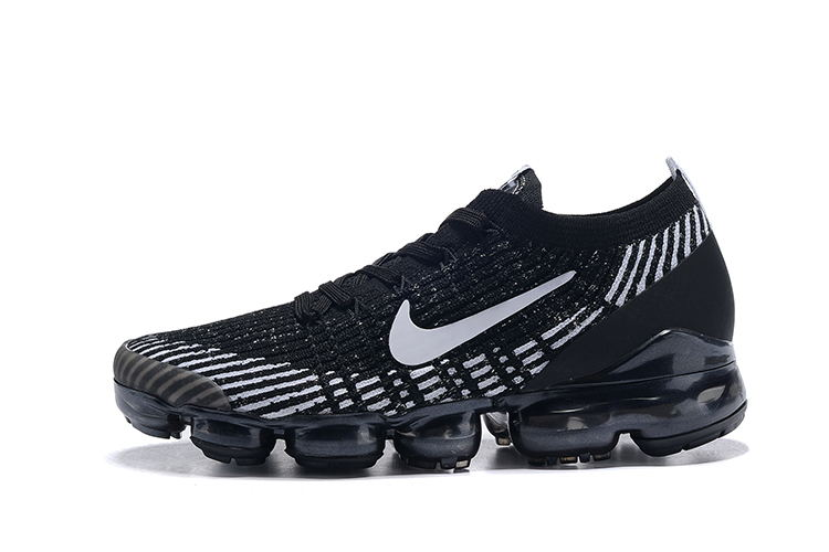 Real Nike Air VaporMax Flyknit 3.0 Black Grey