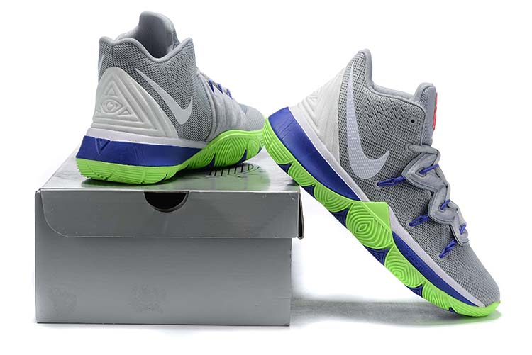 New Nike Kyrie 5 Grey Blue Green