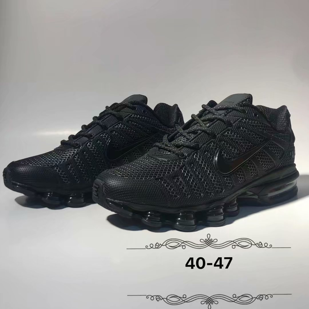 2019 Nike Shox All Black Shoes