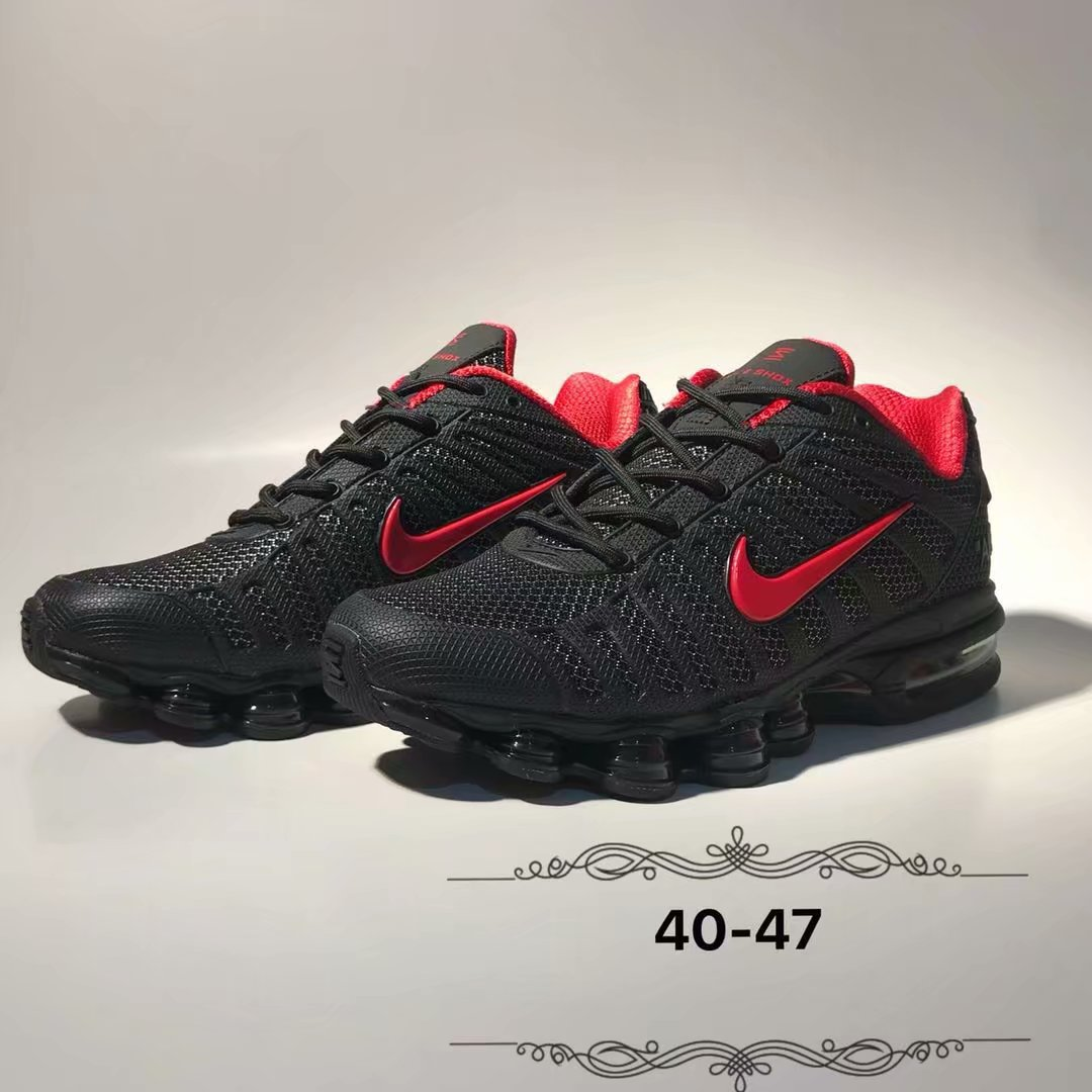 2019 Nike Shox Black Red Shoes