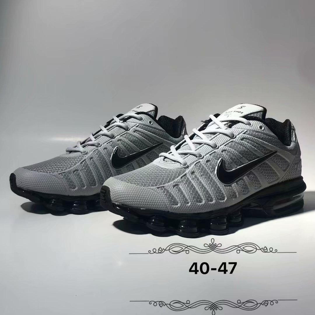 2019 Nike Shox Grey Black Shoes