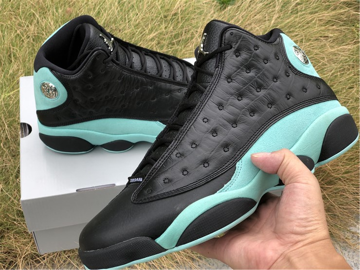 2020 Air Jordan 13 Island Green Shoes