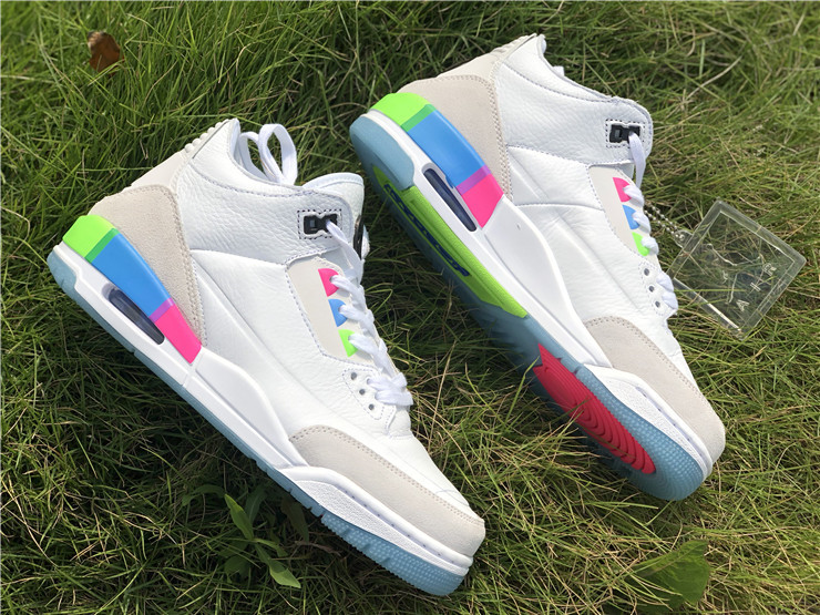 Air Jordan 3 Quai 54 Friends And Family White