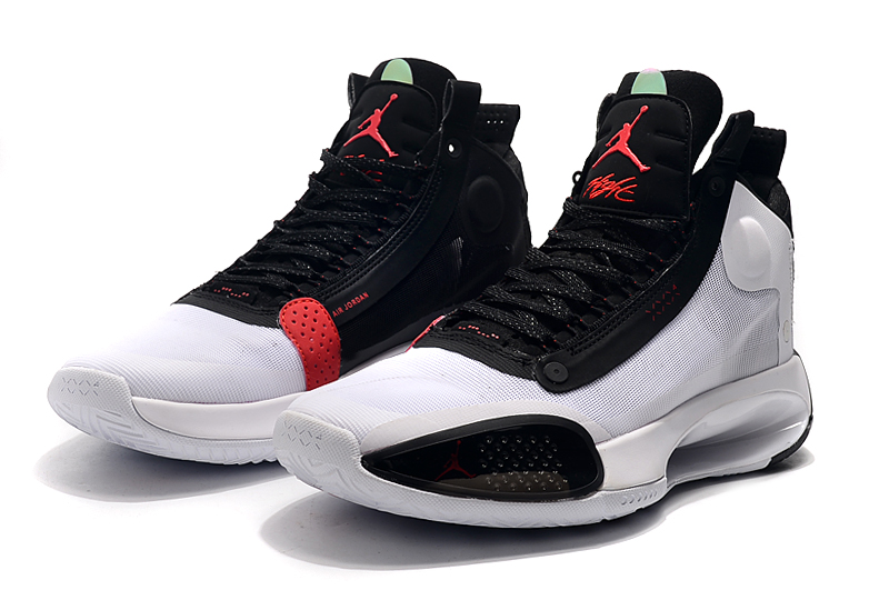 2019 Jordan 34 White Black Red
