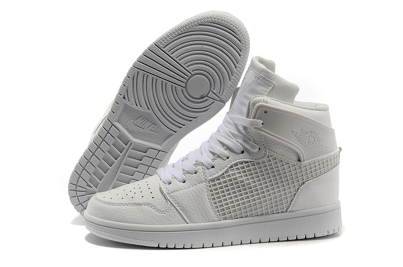 2013 Jordan 1 Retro High All White