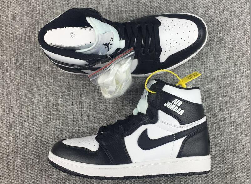 Air Jordan 1 Retro High Rare Air Black White