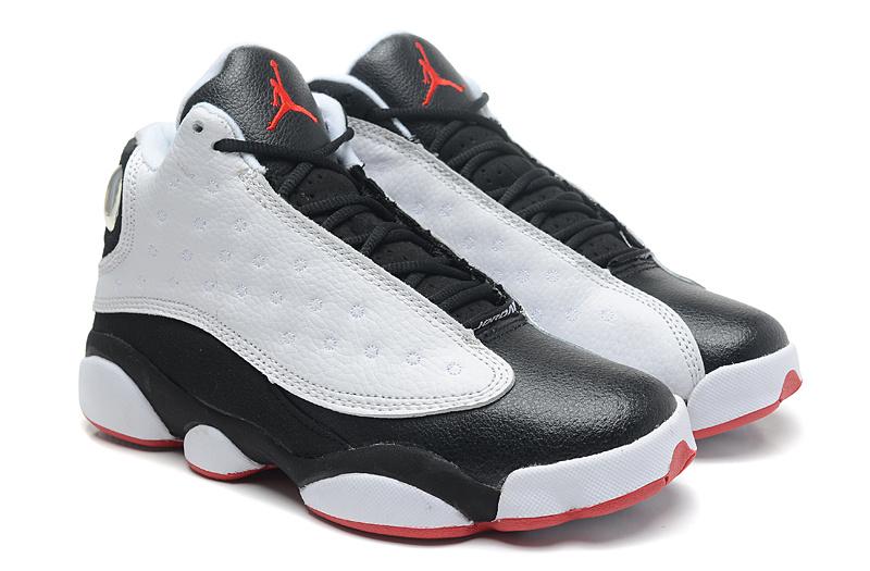 super popular d1cb7 e1469 Air Jordan 13 Retro He Got Game White True Red Black