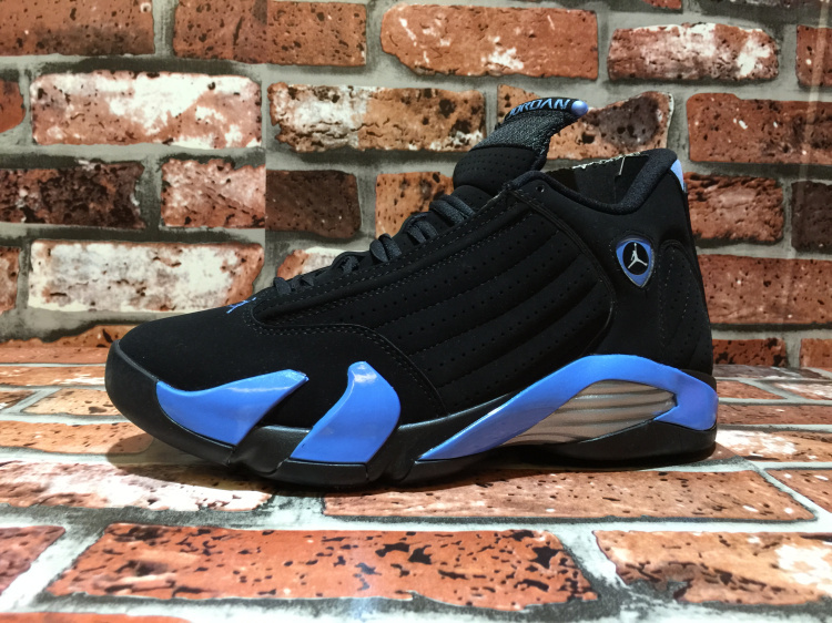 quality design 469d1 0546f 2015 Air Jordan 14 OG North Carolina Black Blue Shoes