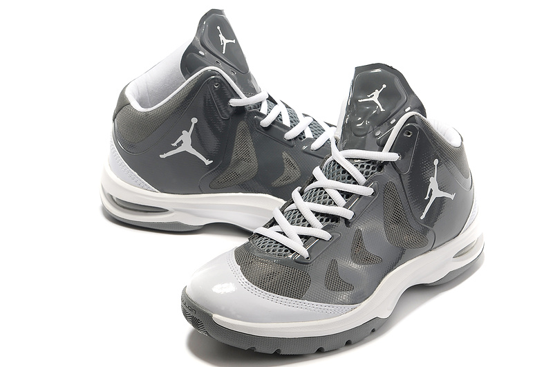 2012 Olympic Jordan Shoes Grey White