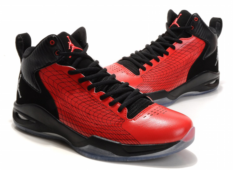 Handsome Jordan 23 Fly Spiderman Red Black