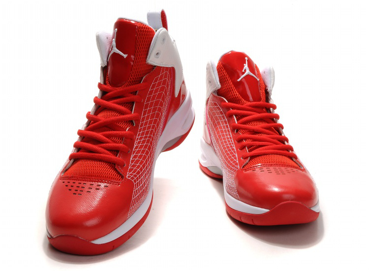 Handsome Jordan 23 Fly Spiderman Red White