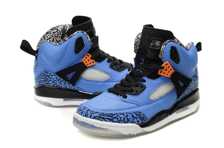 Real Air Jordan Shoes 3.5 Black Blue