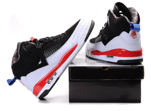 Real Air Jordan Shoes 3.5 Black White Red