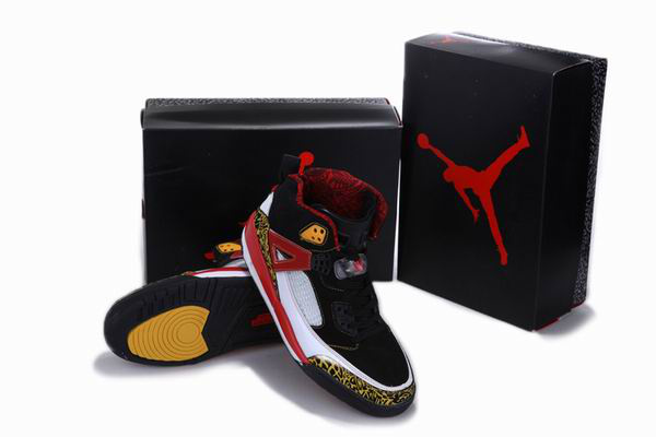New Arrival Jordan 3.5 Reissue Balck White Red Yellow Shoes