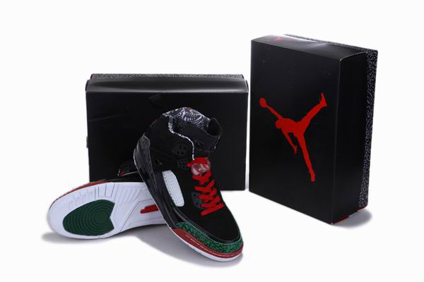 New Arrival Jordan 3.5 Reissue Black Green Red White Shoes
