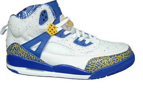 Special Jordan Shoes 3.5 White Blue