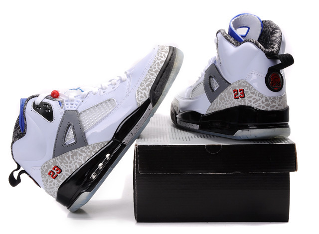 Special Jordan Shoes 3.5 White Grey