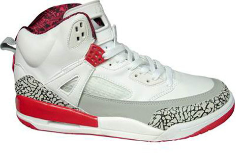 Special Jordan Shoes 3.5 White Red